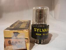 New Vintage Sylvania 6Aq7Gt Vacuum Tube Nib Tested Nos