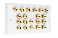 9.2 Surround Sound Audio AV Speaker Wall Face PLATE-Dolby ATMOS nessuna saldatura