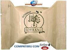 100 Capsule Caffè SOVRANO INTENSO Compatibili ESPRESSO TUO FIOR FIORE COOP