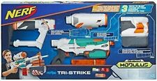 NERF Modulus Tri-strike Blaster Childrens Kids Toy Age 8