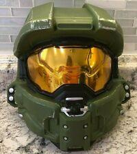 Halo Master Chief Helmet Costume Accessory - Open Back