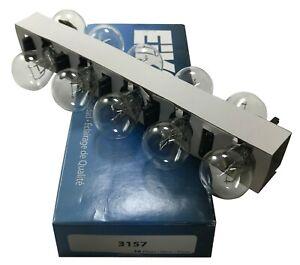Peak 3157 Tail Turn Stop Miniature Light Bulb Headlight Lamp 12.8/14V 2.1/.59A