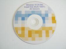 Windows 10 install disk 32bit