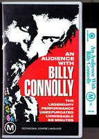AN AUDIENCE WITH BILLY CONNOLLY - VHS Video Tape Vintage