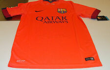 FC Barcelona 2014-15 Soccer Away Jersey Short Sleeves Spanish La Liga League S