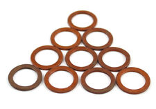 10x Mercedes-Benz Gasket Oil Pan Bolt Gasket Copper 14x20x1, 5mm