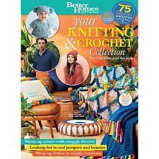 Better Homes & Gardens Knitting Crochet Collection 2017 + Free Knitting Needles