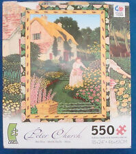 jigsaw puzzle 550 pc Peter Church Bee Hive English Country Garden