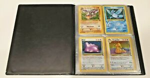 Pokemon Cards Fossil Set Complete 1999 62/62 7 1st Edition cards NM-M