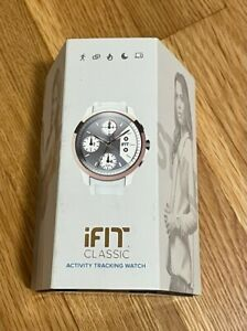 IFIT Classic Womens Activity Tracking Watch White Sleep Water Resistant New
