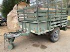 M105A2 1 1/2 ton Military cargo trailer.