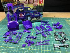40 Willys Gasser Chassis Suspension & Interior UNBUILT AMT 1:25 LBR Model Parts