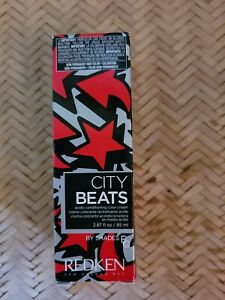 Redken City Beats by Shades EQ Acidic conditioning color cream BIG APPLE RED