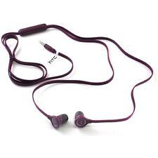 HTC Original OEM RC E190 3.5mm Hands-Free Earbuds Bulk Packaging - Purple