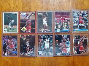 Michael Jordan Base Card Lot of 10 - Affordable Assortment of Jordan 90s cards