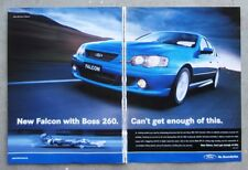 FORD BA FALCON XR8 2003 Sedan Auto Magazine Page Sales Advertisement Brochure