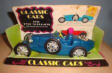 1960-70s Tim Mee Processed Plastic 1931 Type #35 Bugatti 7 Inch Classic Race Car
