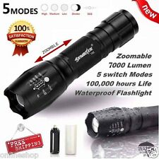 7000LM Tactical LED Flashlight G700 X800 ShadowHawk Bright Zoom Torch Military