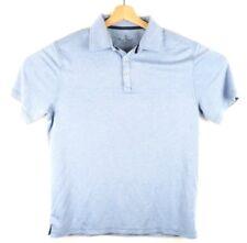 efd6a371 Nat Nast Luxury Originals Mens XL Blue Short Sleeve Polo Golf Shirt E11-17