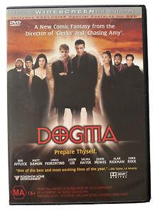 Dogma DVD Region 4 RARE Comedy Kevin Smith Ben Affleck Matt Damon Religious