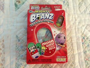 MIGHTY BEANZ TRADING CARD GAME - Moon Quest Starter Deck