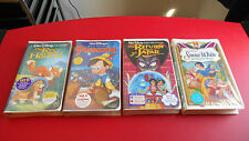 The Fox and the Hound,Snow White,Pinocchio,Return of Jafar VHS