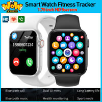 Smart Watch Fitness Tracker Blood Pressure Heart Rate Moniter IOS Android Phone