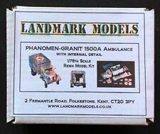 1/76th WW2 GERMAN PHANOMEN GRANIT 1500 AMBULANCE - Landmark Models resin kit