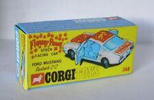 Repro Box Corgi Nr.348 Ford Mustang Flower Power