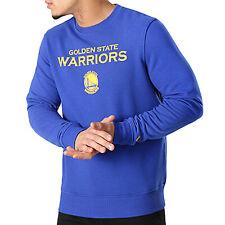New Era Mens Golden State Warriors Tip Off Crewneck NBA Sweatshirt Jumper - XXS