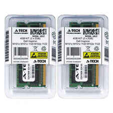 4GB KIT 2 x 2GB Dell Inspiron M101z M101z 1120 M102z 1122 PC3-8500 Ram Memory