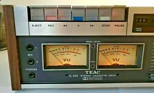 Teac A-450 Top Loading Cassette Deck Just Finished Routine Maint Works Great