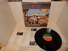 AC/DC DIRTY DEEDS DONE DIRT CHEAP Atlantic R 143944 NM vinyl clean & sleeve LP