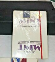 RARE SEALED DECK DEL WEBB'S THE MINT HOTEL CASINO LAS VEGAS PLAYING CARDS