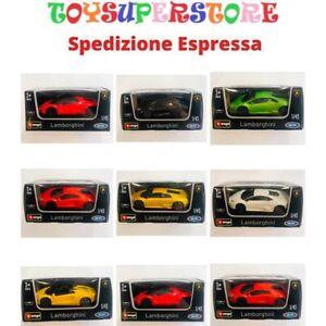 Lamborghini Super Car Modelli assortiti Burago 1/43 011216 Bambini Auto Stradali