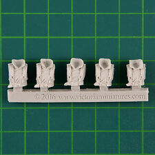 Rausenburg Siege Corps 5 Female Greatcoat Torsos Victoria Miniatures