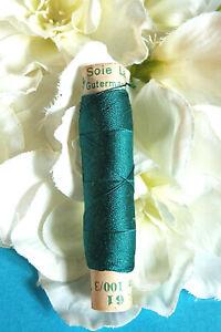 "903B / Superb Coil Wire Silk Gutermann Laska "" Pigeon Blue "" N° 61"