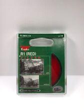 Kenko 58mm Red R1 #25 SR-60 Contrast Lens Filter (NEW)
