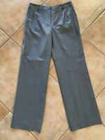 Brooks Brothers Women's Sz 8 Grey Dress Pants Vitale Barberis Canonico Pants
