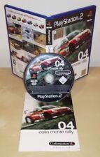 COLIN MCRAE RALLY 04 Ps2 pal gioco game Sony PlayStation prima stampa Codemaster