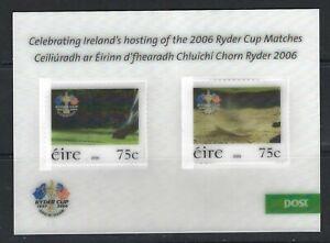 Ireland 2006, Ryder Cup Golf, K. Club, Straffan, Co. Kildare sgMS1808 MNH