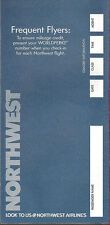 Northwest Airlines ticket jacket wallet [6124] Buy 4+ save 50%