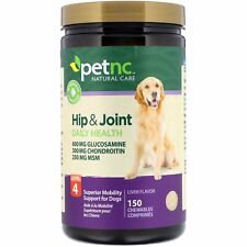 Hip & Joint Health Level 4 Liver Flavor Supplement Support Dog 150 Chewables