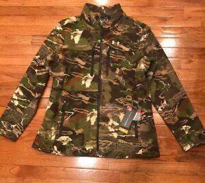 Under Armour Mid Season Wool Camo Womens Hunting Jacket 1297842 2XL XXL NWT $250