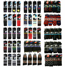 Argyle, Diamond Cotton Multipack Socks for Men