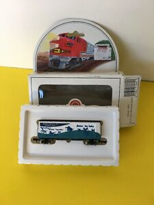N-scale Bachmann 41' Old Time Wood Reefer Gerber New in Box Knuckle Couplers