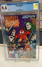 MARVEL AGE #117 (Marvel Comics, 1992) CGC Graded 9.4 ~ 2099 ~ WHITE Pages