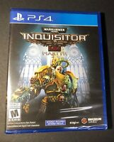 Warhammer 40,000 Inquisitor [ Martyr ] (PS4) NEW