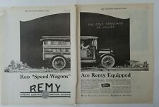1920 REMY electric company Anderson Indiana REO  Speed-wagon commercial truck ad