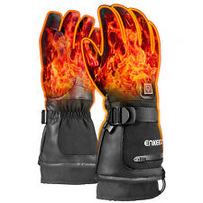 New listing Heated Gloves Winter Battery Electric Waterproof Touch Screen Skating Motorbike